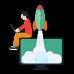 Test website during development